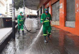 Feiras do Grotão e de Jaguaribe serão higienizadas nesta terça-feira