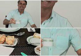 Designer denuncia suposta edição em foto de Bolsonaro no café da manhã e é bloqueado pelo presidente