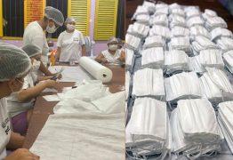 Reeducandas do Sistema Penitenciário da Paraíba produzem máscaras cirúrgicas