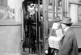 Homem é barrado no transporte público por não usar máscara… em 1918