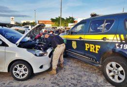 PRF na Paraíba prende homem tentando negociar veículo roubado