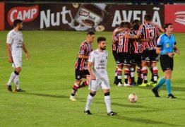 CAMPEONATO BRASILEIRO: Treze perde para o Santa Cruz em jogo da série C