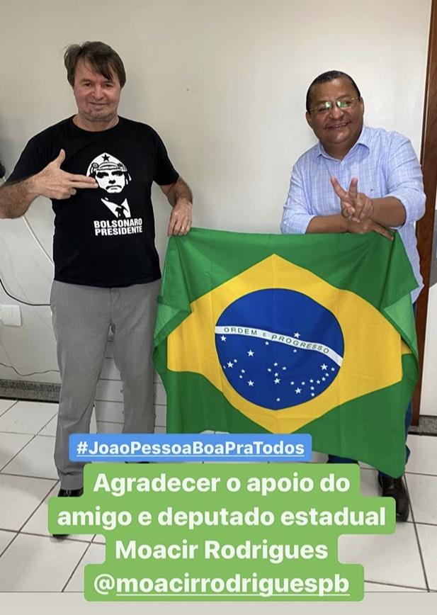 IMG 7866 - SURPRESA: Nilvan Ferreira recebe apoio do deputado estadual Moacir Rodrigues, irmão de Romero Rodrigues