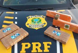 Dois homens são presos pela PRF com 3 kg de cocaína e 2 kg de maconha