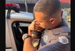 Polícia resgata bebê de um ano que foi abandonado em um bar