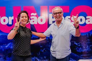 daniella e cicero 300x200 - MAIS UMA: Ex-secretária de Cartaxo, Daniella Bandeira anuncia apoio à pré-candidatura de Cícero Lucena