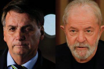 lula bolsonaro 868x644 1 360x240 - PESQUISA IPEC: Lula está 20 pontos à frente de Bolsonaro, lidera corrida presidencial e venceria eleições no 1º turno
