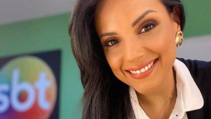 marcia dantas 418x235 1 - SBT define Márcia Dantas como substituta de Rachel Sheherazade