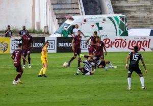 treze x jacuipiense 300x208 - Treze empata sem gols com a Jacuipense e se complica na Série C do Brasileirão