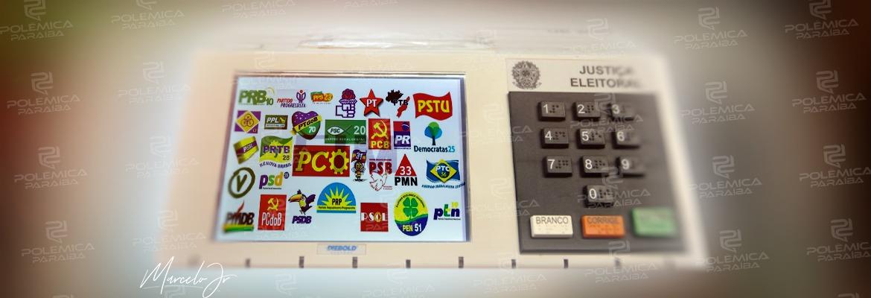 urna partidos - João Pessoa é a sexta capital do país em que o eleitor mais quer mudança na gestão - VEJA NÚMEROS