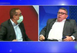 ESQUERDA X DIREITA: Clima esquenta na TV Arapuan entre Walter Santos e Rui Galdino – VEJA VÍDEO