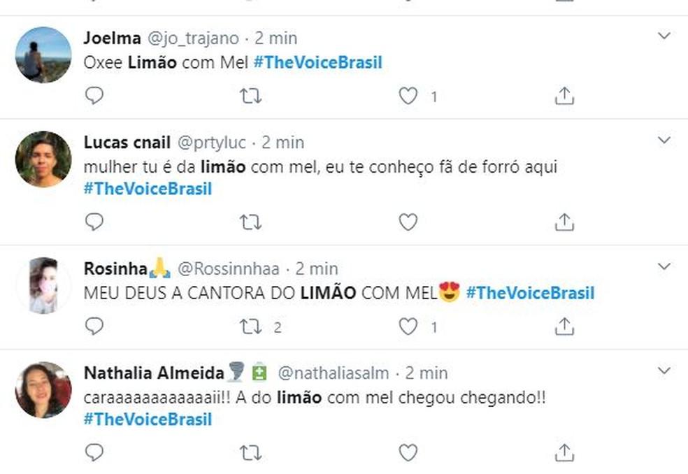 02 1 - THE VOICE BRASIL: Mais uma paraibana é aprovada na primeira fase do programa; CONFIRA