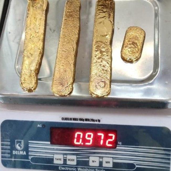 1bue1p1d5olcq78abhjbqe62b - Homem é detido após esconder quatro barras de ouro nas nádegas