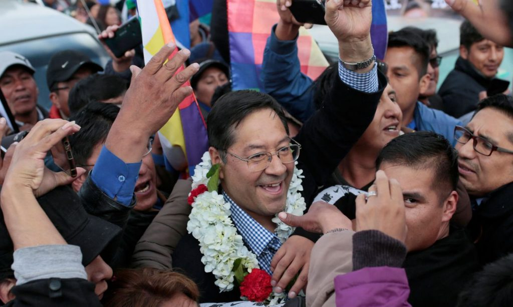 2020 01 28t143203z 1250283712 rc22pe933ift rtrmadp 3 bolivia politics 1024x613 - Itamaraty envia mensagem de saudação ao presidente eleito da Bolívia