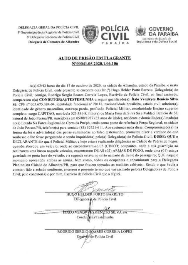 24b20b20 926a 420f 917f a3d07f94db29 1 1 - PEDRAS DE FOGO: candidatos a vereadores e militares de Manoel Júnior são presos por porte ilegal de arma, e intimidação de eleitores; confira