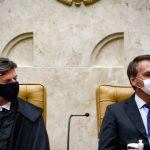 """89527520 pa brasilia bsb 10 09 2020 posse do ministro luiz fux como novo presidente de stf a pos 150x150 - No retorno do Judiciário, Fux manda recado a Bolsonaro: """"Independência entre os poderes não implica impunidade"""""""