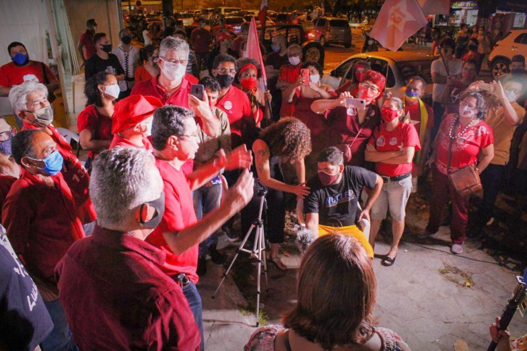ANÍSIO 2 1024x682 - Anísio Maia inaugura comitê de campanha e manda recado para o PT Nacional: 'Não adianta imposição'