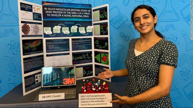 BB1aeKpn - Menina de 14 anos faz descoberta que pode levar à cura da covid-19