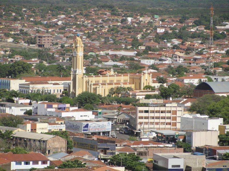 Cajazeiras vista - UM CAJAZEIRADO: sentimento afetivo que me fez considerá-la minha segunda terra natal - Por Rui Leitão