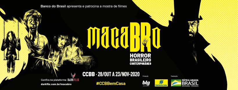 Capa macaBRo - CINEMA PARAIBANO: filmes de terror serão exibidos de graça em mostra nacional de cinema