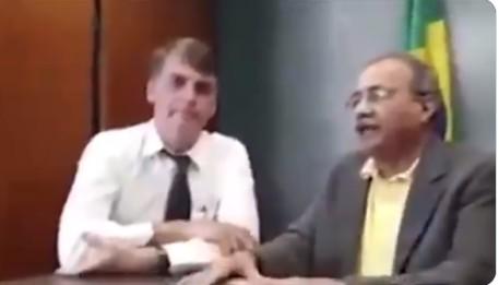Capturart 1 - DINHEIRO NA CUECA: Bolsonaro diz ter 'união estável' com o senador Chico Rodrigues - VEJA VÍDEO