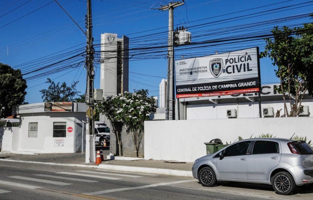 Central de Polícia de CG 1024x655 - Candidato a vereador tem casa invadida e carro roubado em Campina Grande