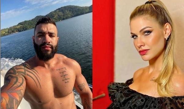 Gusttavo Lima e Andressa Suita 1 - Jornalista afirma que Gusttavo Lima se encontrava com amante no estacionamento de academia em Goiânia