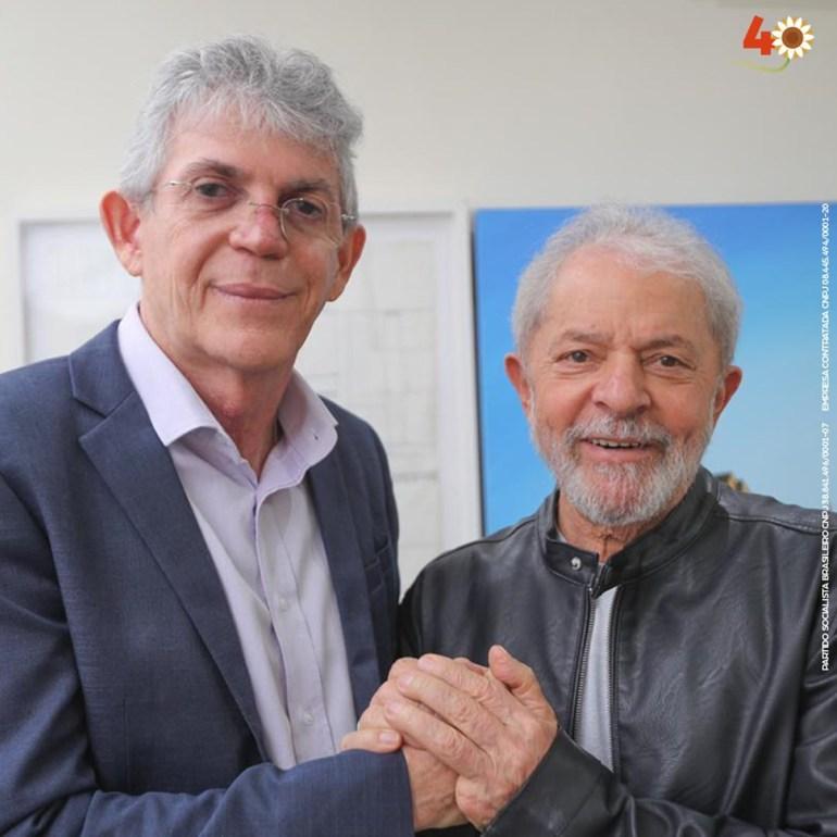 Lula e Ricardo - Lula e o PT nacional implodiram a candidatura de Anísio em João Pessoa