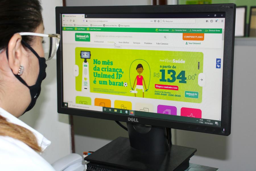 Novo Portal Unimed JP 01 - Unimed João Pessoa lança novo portal de serviços e informações
