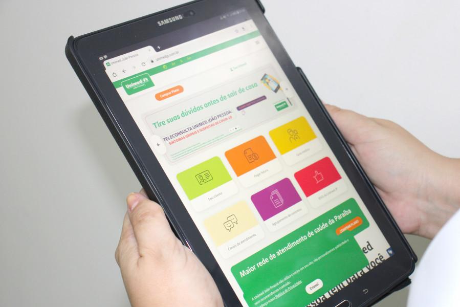 Novo Portal Unimed JP 02 - Unimed João Pessoa lança novo portal de serviços e informações