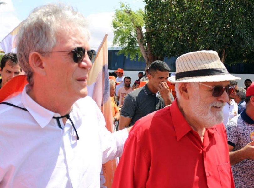 Ricardo Coutinho e Luiz Couto e1603459697384 - Luiz Couto tira férias do governo para conspirar… contra o governo - Por Nonato Guedes