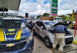 PRF na Paraíba recupera veículo roubado em Pernambuco