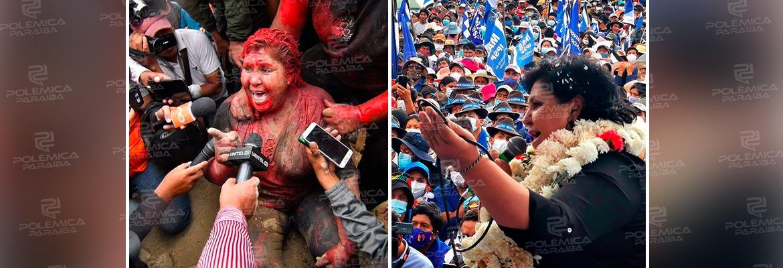 WhatsApp Image 2020 10 19 at 15.15.31 - Ex- prefeita humilhada durante golpe na Bolívia, é eleita Senadora