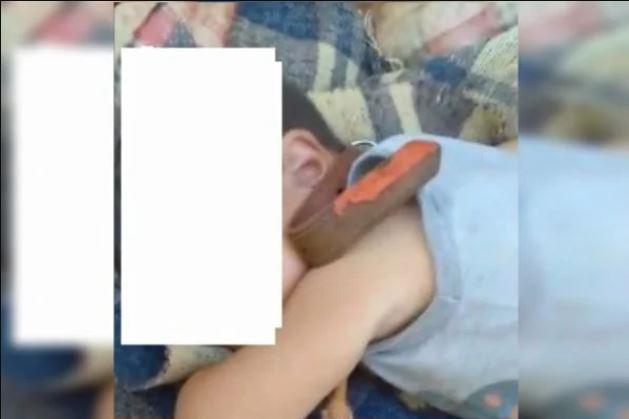 coleira - Jovem denuncia tio-avô, após amarrar pescoço do sobrinho de 2 anos com coleira