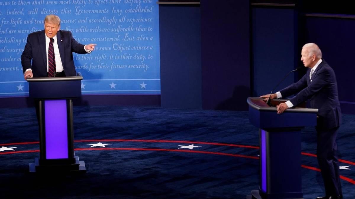 debate eua - No debate entre Trump e Biden, botão silenciador e Kristen Welker merecem elogios - por Heloisa Villela