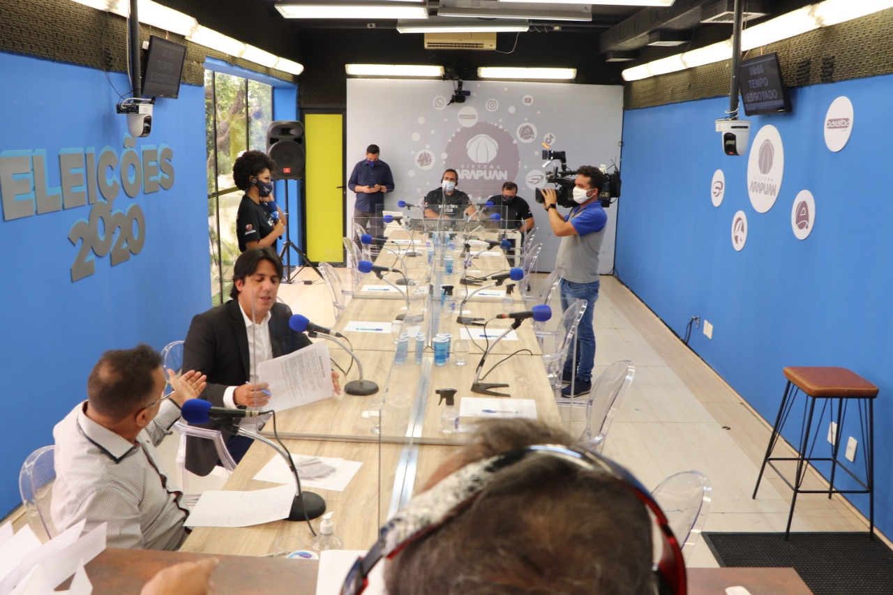debate rdio 1 1 - Arapuan FM realiza primeiro debate de candidatos a prefeito de Santa Rita nesta sexta-feira
