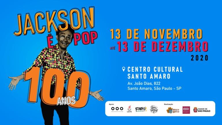 """expo jackson - Exposição paraibana """"Jackson é Pop"""" entra em cartaz em São Paulo"""