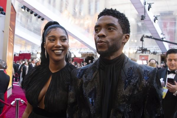 gettyimages 1127215574 - Chadwick Boseman ator de Pantera Negra não deixou testamento, para receber herança esposa vai brigar na justiça