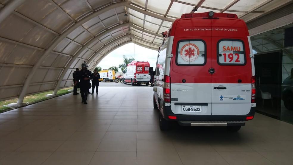 hospital de trauma de campina grande - Jovem baleado por policiais vai responder por desacato e corregedoria deve investigar caso