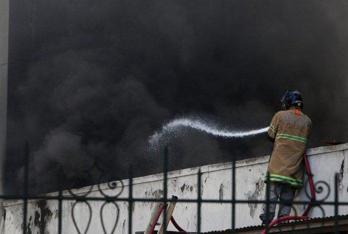 hospital - TRAGÉDIA! Morre terceira vítima de incêndio no Hospital de Bonsucesso