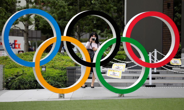 jogos de toquio 2020 aneis olimpicos - Premiê do Japão promete fazer tudo para realizar Jogos de Tóquio 2021