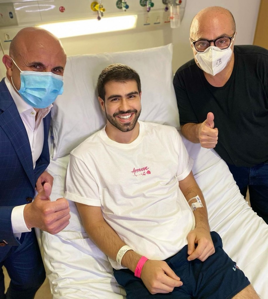 juliano laham - Juliano Laham passa por cirurgia para retirar tumor benigno: 'Vitória'