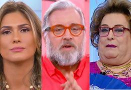 Em crise, SBT demite Lívia Andrade, Leão Lobo e Mamma Bruschetta
