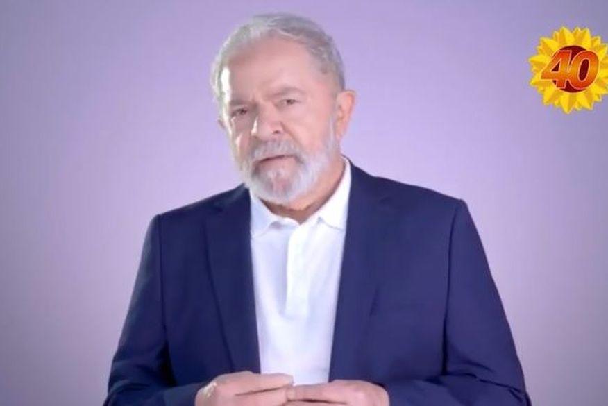 lula 1 - Após pedir votos para Ricardo Coutinho, Lula grava vídeo em apoio a candidato do PSB, em Cajazeiras - VEJA VÍDEO