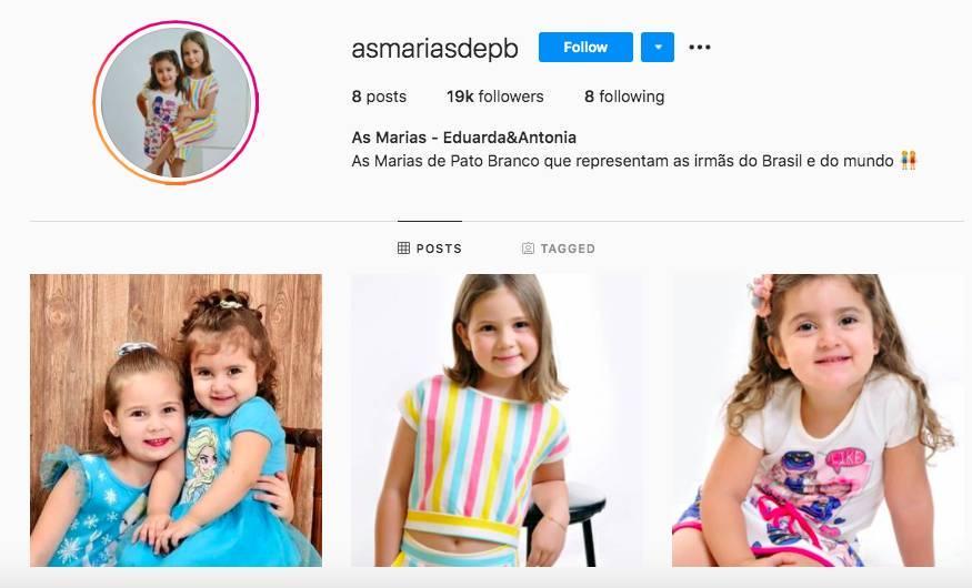 marias 21102020102408939 - FAMA INSTANTÂNEA: Irmãs de briga em festinha estreiam no Instagram com milhares de seguidores