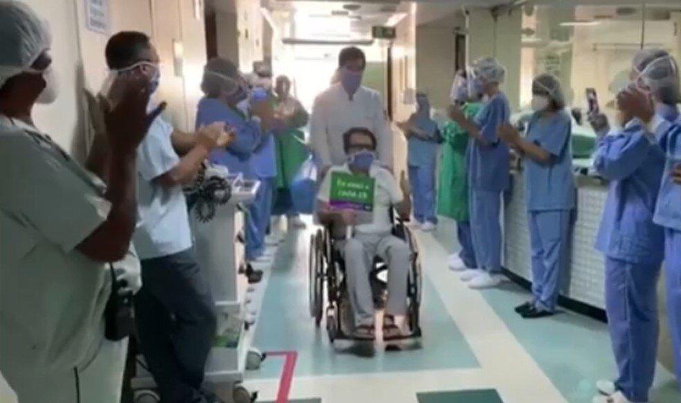 medico 1 - Médico que contraiu Covid-19 trabalhando se recupera após 38 dias em hospital na PB: 'milagre'