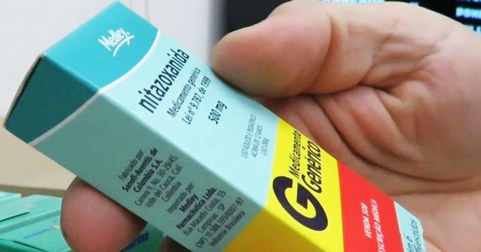 nitazoxanida generico 16042020234048598 - Governo anuncia resultado de ensaio clínico com nitazoxanida contra a Covid-19