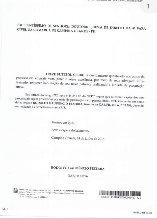 rodolfo junho - Investigado na 'Famintos', secretário em Campina Grande teria participado em suposta fraude em eleição na FPF – VEJA DOCUMENTOS
