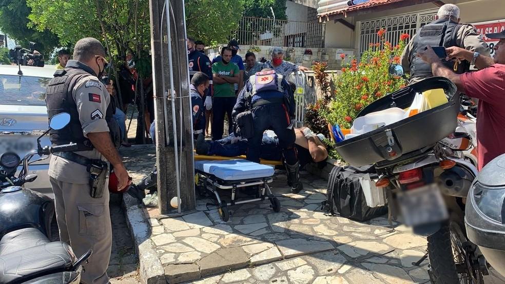 torre - 6 DISPAROS: Vítima reage a tentativa de assalto e atira em suspeito, em João Pessoa