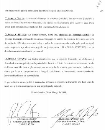 transação2 - 'PATROCÍNIO SIMULTÂNEO': alvo da 'Famintos', secretário de Campina Grande foi citado em reportagem sobre atuação de Michelle Ramalho